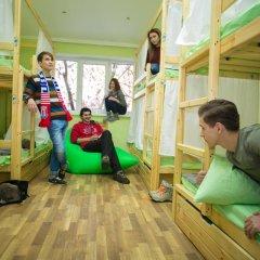 Hostel Ogurets Кровати в общем номере с двухъярусными кроватями фото 13
