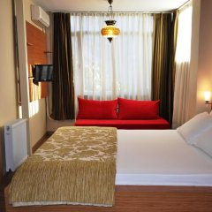 Хостел Antique Стандартный номер двуспальная кровать фото 11