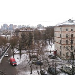 Апартаменты Lesnaya Apartment Санкт-Петербург балкон