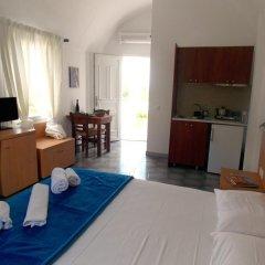 Отель Sunrise Studios Perissa Студия с различными типами кроватей фото 12
