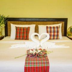 Отель Anahata Resort Samui (Old The Lipa Lovely) 3* Улучшенный номер с различными типами кроватей фото 9