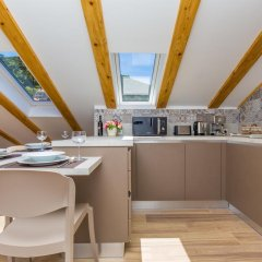 Отель Dubrovnik Luxury Residence-L`Orangerie 4* Апартаменты с различными типами кроватей фото 6