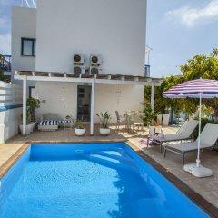 Отель Nicol Villas Кипр, Протарас - отзывы, цены и фото номеров - забронировать отель Nicol Villas онлайн бассейн фото 3