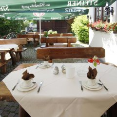 Hotel Garni Zum Gockl Унтерфёринг питание фото 2