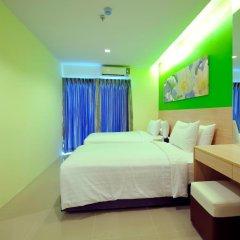 Отель Glow Central Pattaya Семейный люкс