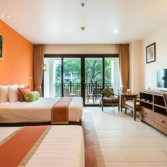Отель Ravindra Beach Resort And Spa 5* Улучшенный номер с разными типами кроватей фото 5