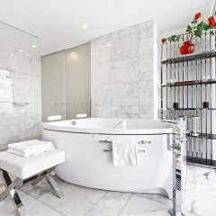 Апартаменты Sky Apartments Rentals Service Студия Делюкс с различными типами кроватей фото 12