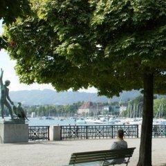 Отель Lake Side Location Bellevue Швейцария, Цюрих - отзывы, цены и фото номеров - забронировать отель Lake Side Location Bellevue онлайн пляж