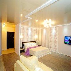 Апартаменты на Луговой 67/69 Студия с различными типами кроватей фото 13