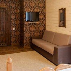Гостиница Лесная Усадьба Стандартный номер двуспальная кровать фото 8