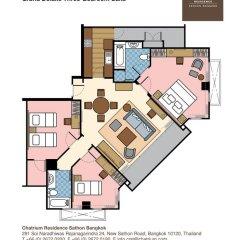 Отель Chatrium Residence Sathon Bangkok 4* Люкс повышенной комфортности фото 25