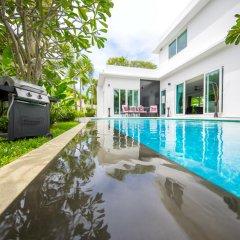 Отель Villas In Pattaya 5* Стандартный номер с различными типами кроватей фото 10