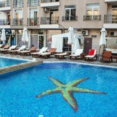 Отель Aparthotel Dawn Park Болгария, Солнечный берег - отзывы, цены и фото номеров - забронировать отель Aparthotel Dawn Park онлайн бассейн фото 2
