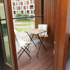 Отель MNH Apartments Kolejowa Польша, Варшава - отзывы, цены и фото номеров - забронировать отель MNH Apartments Kolejowa онлайн балкон