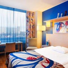 Отель Cumulus Hakaniemi 3* Стандартный семейный номер с двуспальной кроватью фото 5