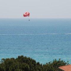 Kleopatra South Star Apart Турция, Аланья - 1 отзыв об отеле, цены и фото номеров - забронировать отель Kleopatra South Star Apart онлайн пляж фото 2