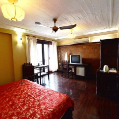 Queen Travel Boutique Hotel - Hang Bac 3* Номер Делюкс фото 11