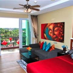 Апартаменты Sea & Sky Karon 2 bedrooms Apartment Sea View комната для гостей фото 2