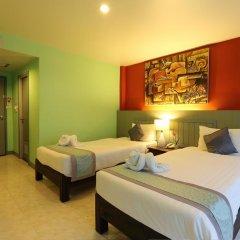 Ansino Bukit Hotel 3* Улучшенный номер двуспальная кровать фото 6