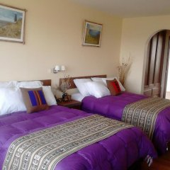 Отель Mirador del Titikaka 3* Стандартный номер с разными типами кроватей