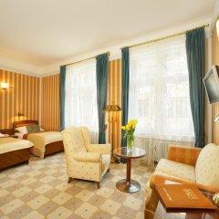 Hotel Paris Prague 5* Номер Делюкс с различными типами кроватей фото 3