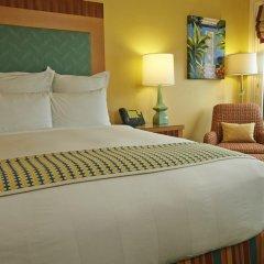 Отель Renaissance Curacao Resort & Casino 4* Стандартный номер с различными типами кроватей фото 3