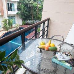 Отель Wonderful Pool house at Kata 3* Улучшенный номер разные типы кроватей фото 5