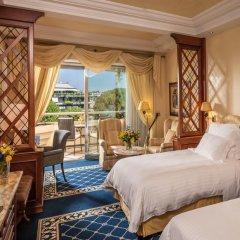 Отель Rome Cavalieri, A Waldorf Astoria Resort 5* Номер Делюкс с 2 отдельными кроватями фото 4