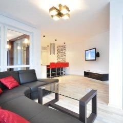 Апартаменты Dom & House - Apartments Sunrise Сопот комната для гостей фото 3