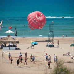 Side Star Resort Турция, Сиде - отзывы, цены и фото номеров - забронировать отель Side Star Resort онлайн пляж фото 2