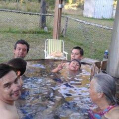 Отель Cabañas Newenpüllü бассейн