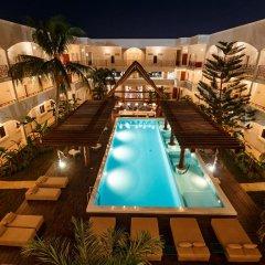 Отель Hm Playa Del Carmen Плая-дель-Кармен бассейн фото 8