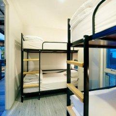 The Yard Hostel Кровать в общем номере с двухъярусной кроватью фото 5