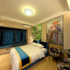 Апартаменты Guangzhou Chimelong Heefun International Service Apartment Номер Делюкс фото 6