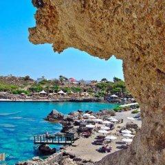 Отель Kalithea Греция, Родос - отзывы, цены и фото номеров - забронировать отель Kalithea онлайн пляж фото 2