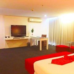 I Residence Hotel Silom 3* Номер Делюкс с различными типами кроватей фото 10