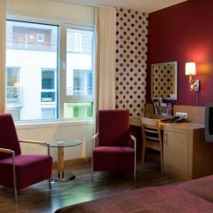 Отель Scandic Solsiden 3* Стандартный номер с различными типами кроватей фото 3