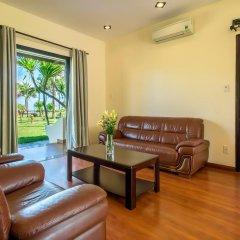 Отель Agribank Hoi An Beach Resort 3* Вилла с различными типами кроватей фото 21