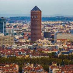 Radisson Blu Hotel Lyon балкон