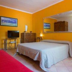 Отель Villa Mondello Италия, Палермо - отзывы, цены и фото номеров - забронировать отель Villa Mondello онлайн комната для гостей фото 3