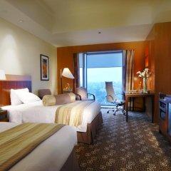Отель Park Plaza Beijing Wangfujing 4* Улучшенный номер с различными типами кроватей фото 4