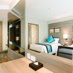 Отель Citrus Sukhumvit 11 Bangkok by Compass Hospitality 3* Стандартный номер с различными типами кроватей фото 10