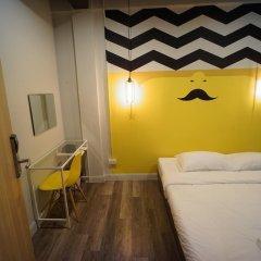 BRB Hostel Bangkok Silom Стандартный номер с различными типами кроватей фото 6