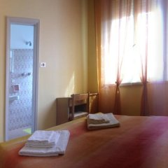 Hotel Carmen Viserba Стандартный номер двуспальная кровать фото 5