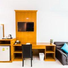 Курортный отель Lamai Coconut Beach 3* Улучшенный номер с различными типами кроватей фото 11