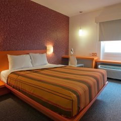 Отель City Express Junior Guadalajara Periférico Sur 2* Стандартный номер с различными типами кроватей фото 2