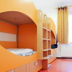 Chillout Hostel Zagreb Кровать в общем номере с двухъярусной кроватью фото 5