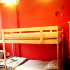 WDj Hostel Кровать в общем номере с двухъярусной кроватью фото 11