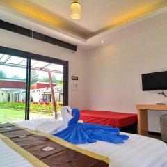 Отель Golden Bay Cottage 3* Улучшенное бунгало с различными типами кроватей