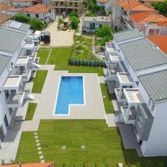 Отель Adonis Village Греция, Пефкохори - отзывы, цены и фото номеров - забронировать отель Adonis Village онлайн бассейн фото 3